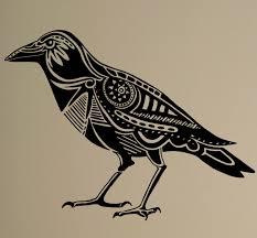 Raven Wall Decal Bird Crow Vinyl Sticker Animals Art Decor Home Interior Room Office Shop Restaurant Design Wall Decals Birds Restaurant Designroom Design Aliexpress