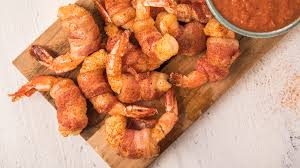 Zesty Bacon Wrapped Shrimp