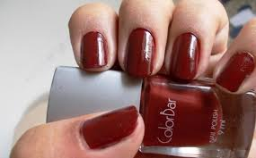 colorbar nail lacquer valentino and dupes