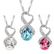 heart pendant necklaces xmas gifts