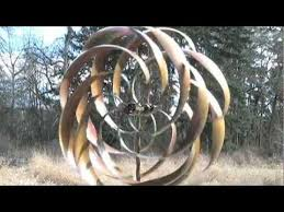 kinetic garden wind spinners