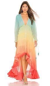 rococo sand ciel dress in rainbow revolve