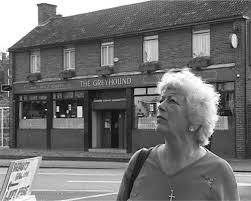 Hilda Kennedy returns to the (now rebuilt) Greyhound Pub in Stratford, 63  years after the tragic