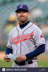 April 23, 2010; Oakland, CA, USA; Cleveland Indians manager Manny ...