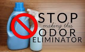 homemade odor eliminator
