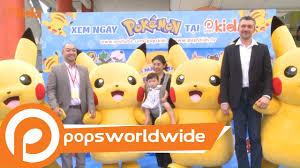 Sự Kiện Ra Mắt Loạt Phim Pokémon Trên POPS Kids - YouTube