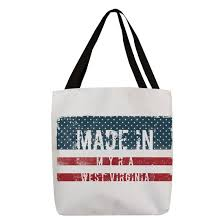 Made in Myra, West Virginia Polyester Tote Bag by TintoDesignsOriginal -  CafePress
