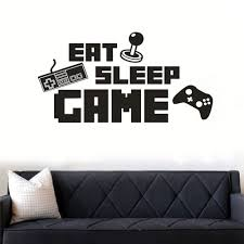 Anber Game Wall Sticker Decal Game Room Decor Children Gift Nursery Boys Room Wall Vinyl Decal Lettering Stickers Home Decor