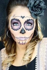 33 simple sugar skull makeup looks 2018