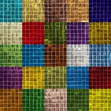 colored glass mirror tile 15mm