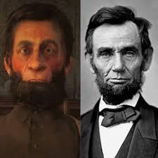 My attempt to making Abraham Lincoln : reddeadredemption2