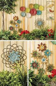 inspiring garden fence decor ideas for