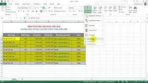 Tô màu nguyên dòng trong Excel - YouTube
