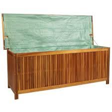 vidaxl garden storage box 59 x19 7 x22