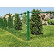 6 Ft H X 50 Ft L 9 Gauge Vinyl Coated Steel Chain Link Fence Fabric In The Chain Link Fence Fabric Department At Lowes Com