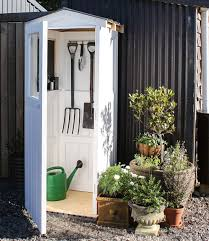 diy build a stylish mini garden shed