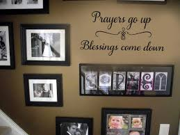 Wall Art Decal Home Decor Wall Decal Go Up Blessings Etsy