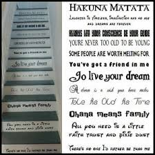 Large Stair Riser Stickers Disney Fonts Used All Favourite Songs Vinyl Decals Ebay