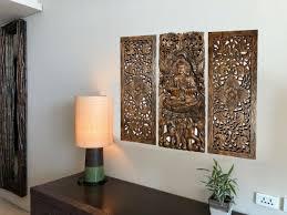 miami mumbai wood panels buddha with