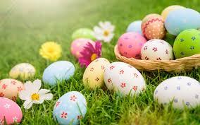 تحميل خلفيات بيض عيد الفصح الربيع تم تزيين البيض عيد الفصح
