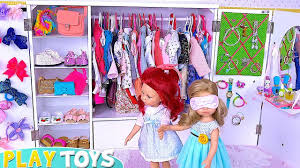 baby doll twins dress up makeup toys