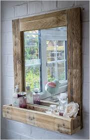making a diy mirror for your bathroom