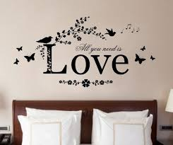 Vinyl Wall Large If I Lay Here Snow Patrol Art Quote Wall Sticker Decal Heart