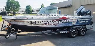 Boat Wraps Rochester Dodge Center Mn National Fleet Graphics Llc