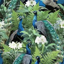 Peacock - India – The Detroit Wallpaper Co.