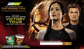 the marketing tactics for hunger games