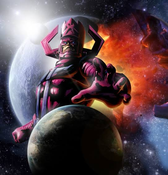 Expected Appearance of Galactus