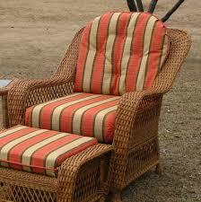 chair cushion set wicker style