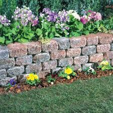 concrete garden wall blocks