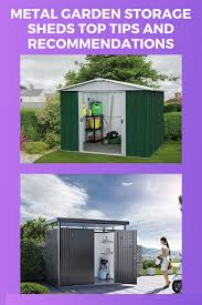 metal garden storage sheds best tips