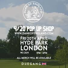 TODAY!!! 😤 #DankOfEngland Pop up shop ...