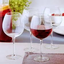 4 large wine glasses 720 ml solavia