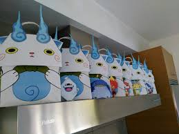 Yokai Watch Party Candy Bags Cumpleanos Fiesta Cumpleanos Y