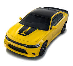 2015 2020 Dodge Charger Hood Stripe Vinyl Graphic Decals Hood 15 Hemi Daytona R T Srt 392 Hellcat Blackout Kit