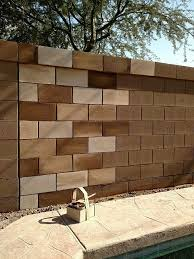 Extraordinary Painting Cinder Block Exterior Walls 96 For Your Best Design Interior W Decorating Cinder Block Walls Cinder Block Walls Cinder Block Garden Wall