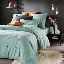 perfect night duvet cover in polka dot
