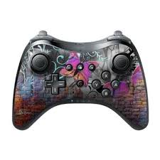 Decalgirl Wiupc Bwall Nintendo Wii U Pro Controller Skin Butterfly Wall From Unbeatablesale At Shop Com