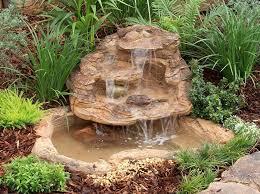 small pond waterfall kits backyard