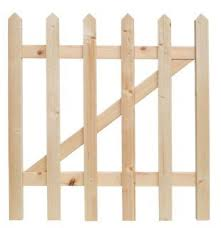 Wickes Palisade Pointed Top Timber Gate Kit 890 X 865mm Wickes Co Uk Maybe Use 2 Of These Gates Garde Corps Corps