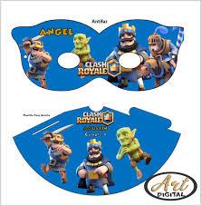 Kit Imprimible Promo 3x1 Clash Royale Candy Bar Editable 63 00