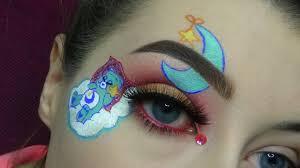 care bear makeup tutorial chelsey