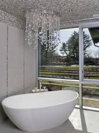 ideas for chandeliers in the bathroom
