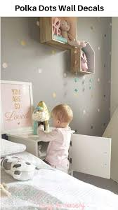 Trendy Wall Decor Stickers These Flash Rose Gold Dot Wall Stickers Look Beautiful Circle Design Ma In 2020 Kids Room Wallpaper Baby Room Wall Stickers Baby Room Wall