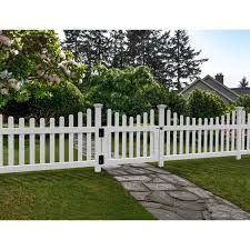 Zippity Outdoor Products 3 Ft H X 3 5 Ft W All American Vinyl Picket Gate Reviews Wayfair