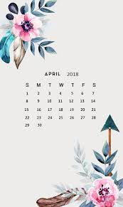 april 2018 calendar wallpaper latest