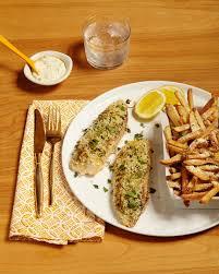 Crispy Lemon Baked Fish with Parmesan ...